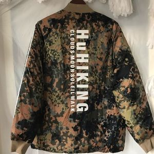 Adidas X Pharrell Williams HuHiking Jacket   Coat